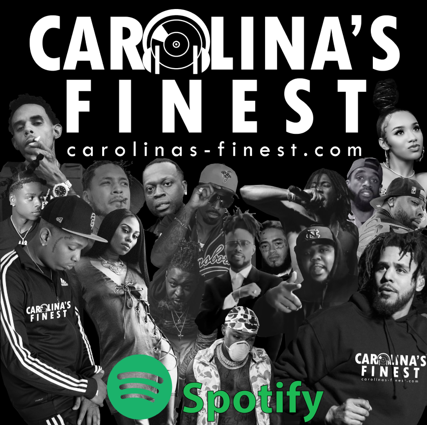 Carolinas Finest Spotify Playlist